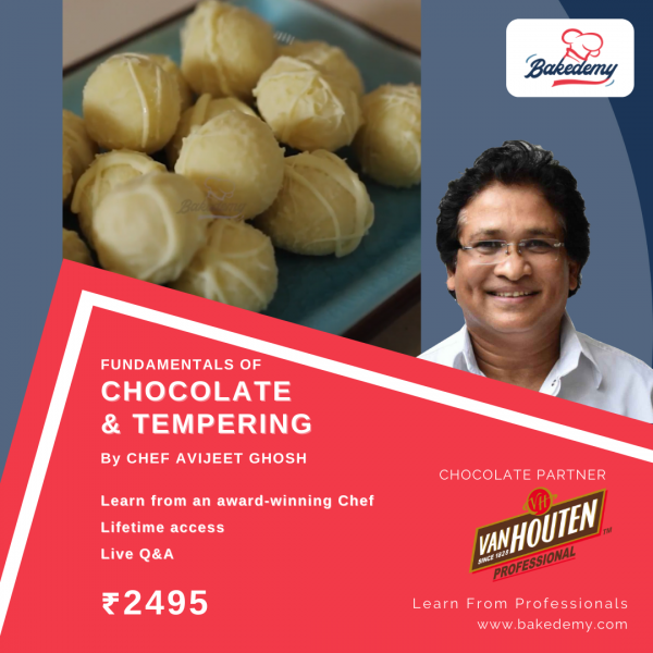 Online Course on Chocolate & Tempering
