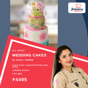 Online Course on Wedding Cakes