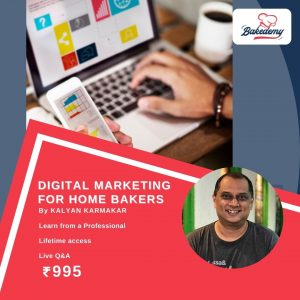 Digital Marketing for Home Bakers