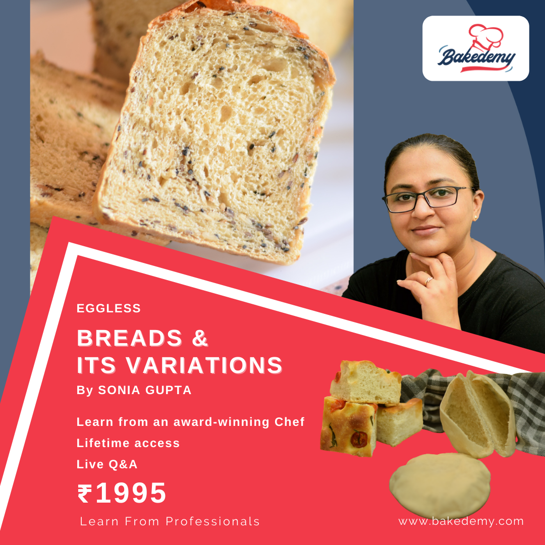 Onkine Course on Bread and its variations