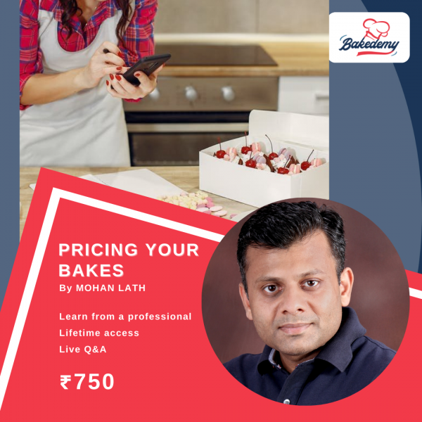 Online Course on Pricing Your Cakes & Bakes