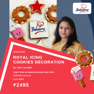 Online Course on Royal Icing Cookies