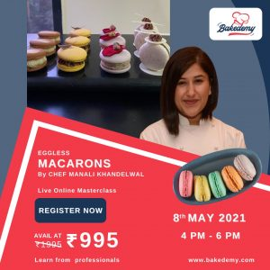 manali's live macarons class