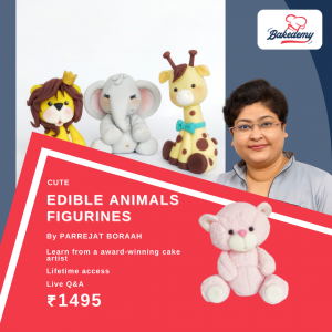 Online Course on Animal Figurine Toppers