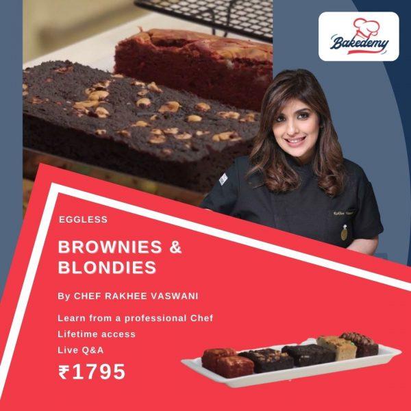 Online Course on Eggless Brownies & Blondies