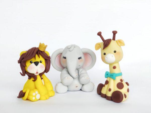 cute edible jungle animals
