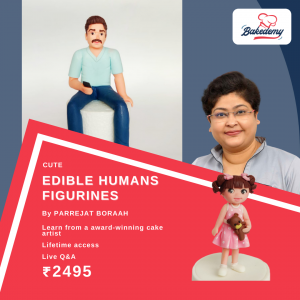 Online Course on Edible Human Figurine Toppers