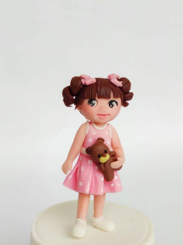 cute girl figurine