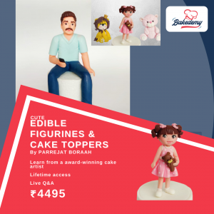 Online Course on Cute Edible Figurines & Cake Toppers