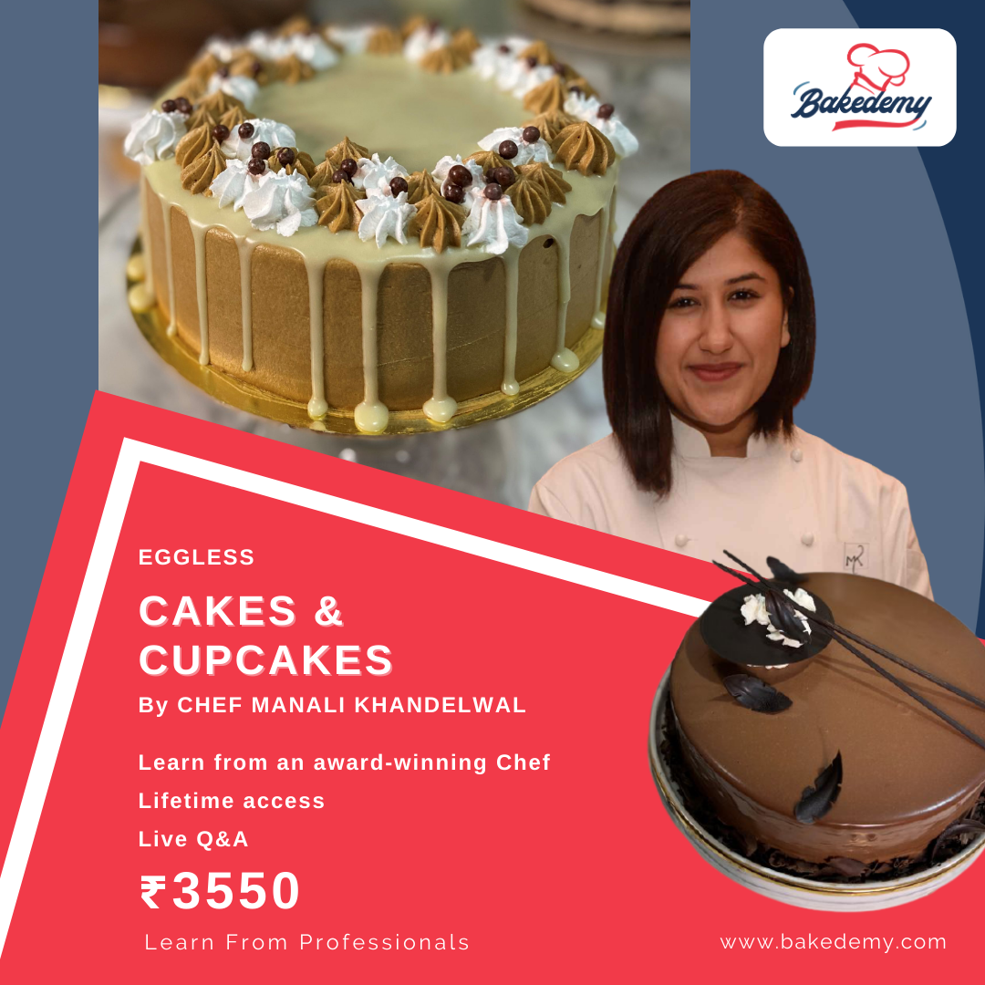 Online Course on Eggless Cakes & Cupcakes