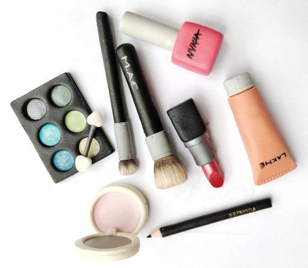 edible makeup fondant accents